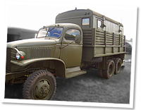 GMC CCKW Radio Truck, complete HQ communications centre World War 2