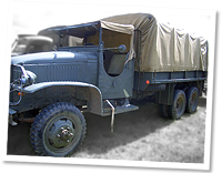 Open cab GMC 6X6  World War 2, extensively used by allied forces
