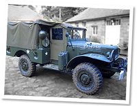 Dodge weapons carrier WC52, world war2, used extensively by allied forces