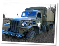 World War 2, GMC 6X6 truck, used extensively by Allied forces