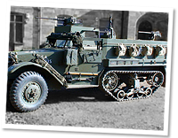 International M3 half track troop carrier World War 2.