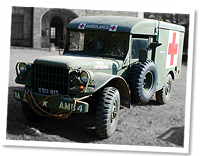 Dodge Ambulance, Post war.