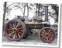 Tasker traction engine, 1916, ordered by the war department for gun haulage etc. during WW1