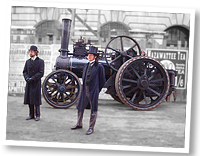 Fowler traction engine 1902