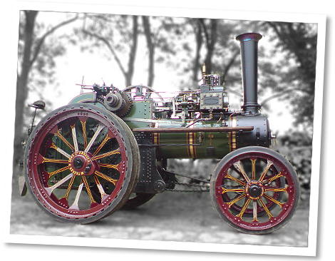 Tasker traction engine 1916